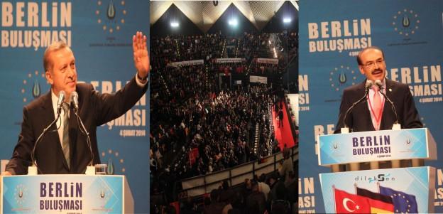 Berlin'de Büyük Buluşma Gerçekleşti, Salonun Coşkusu tüm Avrupaya yansıdı…